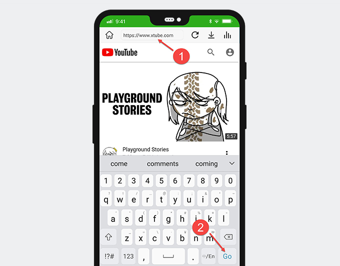 Download XTube videos on Android