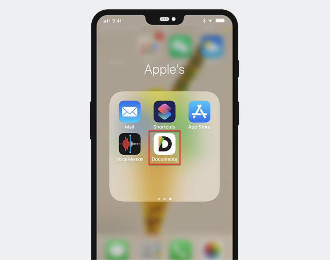 Documents on your iPhone