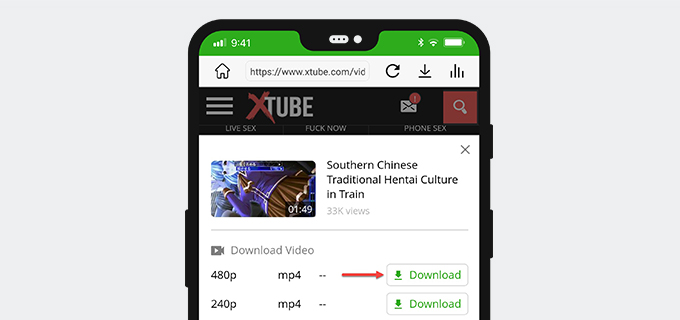 Download Xtube on Android