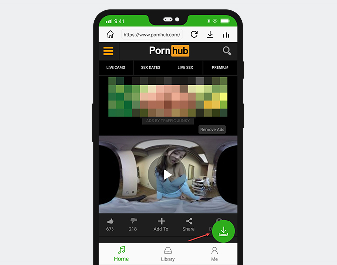 Download VR porn on Android