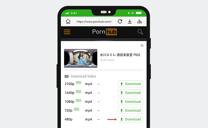 VR porn download on Android