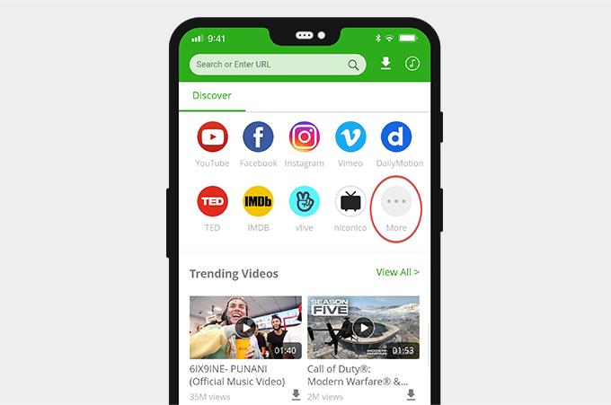 6Buses video downloader Homepage