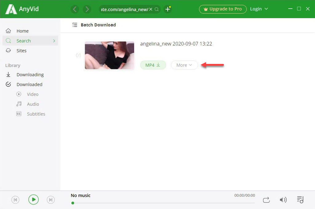 Chaturbate download with 6Buses video downloader
